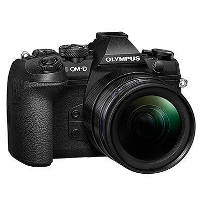 Olympus OM-D E-M1 Mark II Digital Camera with 12-40mm PRO Lens